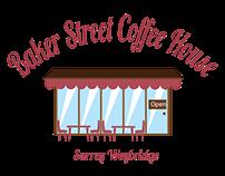 Coffee shop design mockup -Logo - Cup - Webdesign