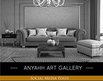 Art Gallery Social Media