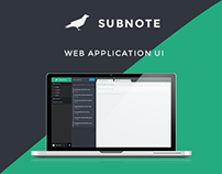 Note Application UI