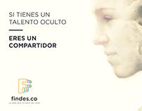 Findes | Digital campaign
