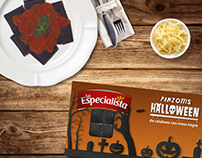 Packaging y gráfica Halloween La Especialista