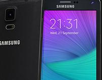 Samsung Galaxy Note 4 3D Visuals