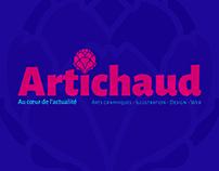 Artichaud - Logo pour un magazine