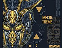 FX5A Sacred Geometry Mecha Theme
