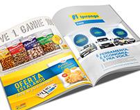 Anúncios para a Revista dos Postos Ipiranga