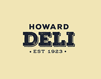 Howard Deli Re-Brand