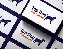Top Dog Recruiting Logo Design