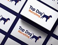 Top Dog Recruiting Logo Design
