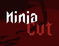 Ninja Cut | Modular Typeface | Free Font