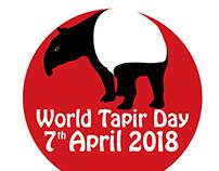 World Tapir Day 2018 Sticker Design