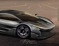 McLaren F1 - Reimagined