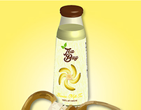 Tea Bay Banana Milk Tea: Creative Ads