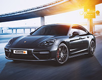 Retouching Porsche for Winline