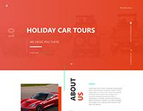 Car Hire & Tour Website