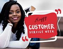 Metz: Customer service week artwork