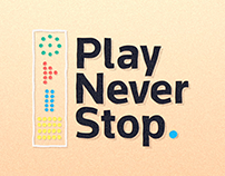 Play Never Stop.