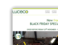 New from Luceco - Black Friday - Portable Work Light