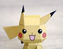 Pikachu papertoy