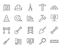 20 Architecture Vector Icons