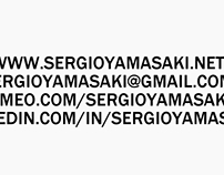 SERGIO YAMASAKI - 3D/CG GENERALIST REEL 2016