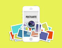 Postkarte iPhone App