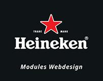 Heineken Modules Webdesign