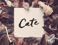CATE - Vizuální identita kapely