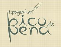 Tipografia Bico de Pena