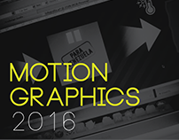 Motion Graphics 2016