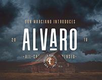 Free Alvaro Condensed Sans Serif Font