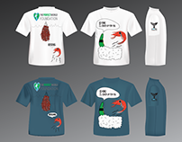 Save the ocean project t- shirt design
