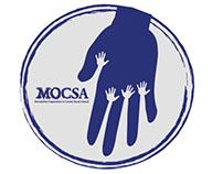 MOCSA non-profit guerrilla marketing and web assets