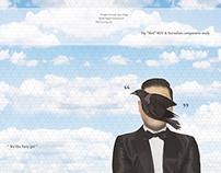 Psy & René Magritte_book design
