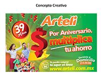 Arteli - Aniversario 2017