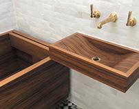 'Artisan Texture' with Geo Bath & Wave Basin