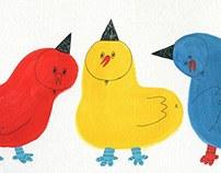 SSEBONG's birds.