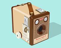 1960 Kodak Brownie 'Flash B'
