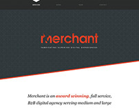Merchant Home Page Design