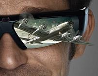 Campagne publicitaire LED 3D - Samsung