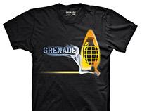 Grenade Gloves Teeshirt Graphics