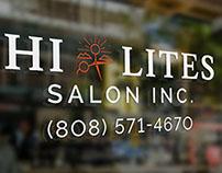 Hi Lites Salon Logo & Branding