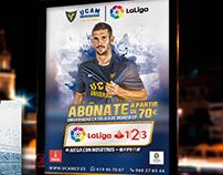 Campaña Abonados  |  UCAM CF  |  16/17  |  LaLiga 123