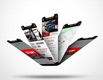 UI APP per driver piccole flotte | proposta grafica