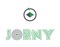 Jorny logo design
