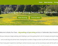 Walks Four Paws - Website