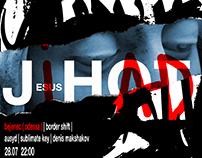 JIHAD/J-HOT // poster