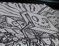 Doodle Tribu de fuego - Wilmai