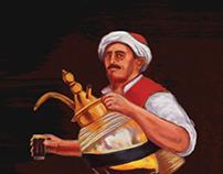 An Egyptian folkloric character | بياع العرقسوس