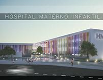 Hospital facade aluminium louver