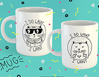 Coffee Mug & T-shirt Design